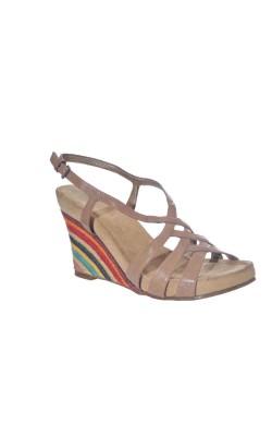 Sandale piele naturala nude Aerosoles, marime 37