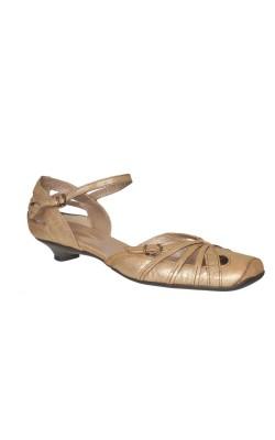 Sandale piele sidefata Janet&Janet, marime 40