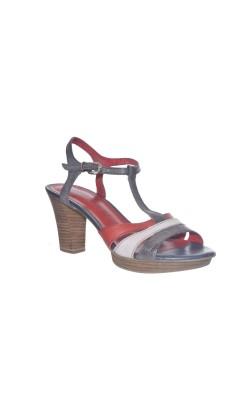 Sandale piele Tamaris, comode, marime 38