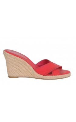Sandale Ralph Lauren, textil si piele, marime 37.5