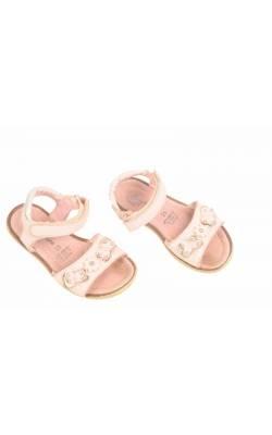 Sandale roz Baren-Schuhe, piele naturala, marime 25