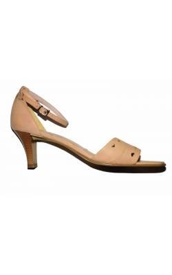 Sandale roz Bellissima, piele naturala, marime 41