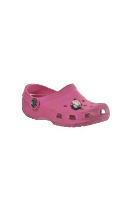 Sandale roz Crocs, marime 25