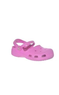 Sandale roz Crocs, marime 29