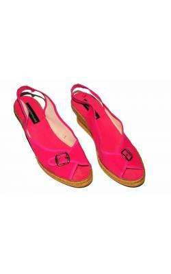 Sandale roz cu catarama Ilse Jacobsen, marime 40