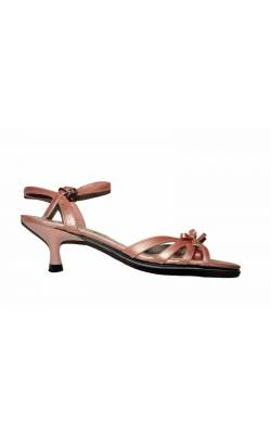 Sandale roz cu fundita Fioni, evenimente speciale, marime 38.5