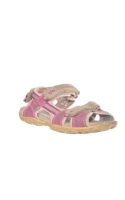Sandale fete Geox, piele naturala, marime 31