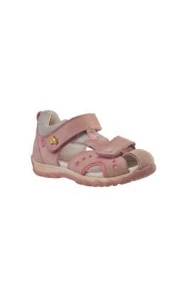 Sandale roz din piele Elefanten, marime 24