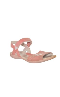 Sandale roz Miss, piele naturala, marime 33
