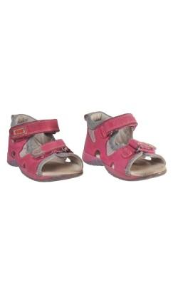 Sandale roz Napero, piele, marime 24