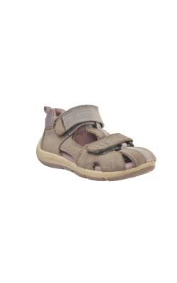 Sandale semi-inchise din piele Superfit, marime 22