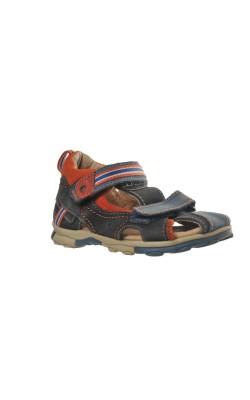 Sandale semi-inchise Skippy, piele naturala, marime 26