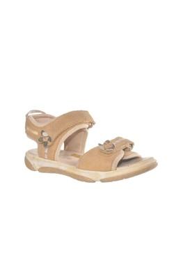 Sandale bej cu auriu Superfit, marime 30