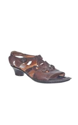 Sandale usoare din piele naturala Think!, marime 37 calapod lat