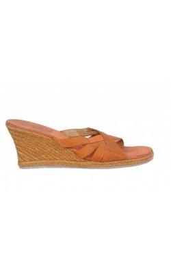 Sandale wedge Flex by Liz Claiborne, piele, marime 39