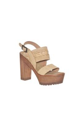 Sandale Xyz, piele naturala, marime 39