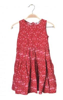 Sarafan catifea reiata H&M, 4-5 ani