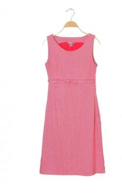 Sarafan rosu cu alb H&M, marime 34