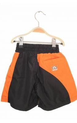 Short Alanic, negru cu portocaliu, 5-7 ani