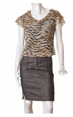 Top animal print Celina Exclusive, marime 42