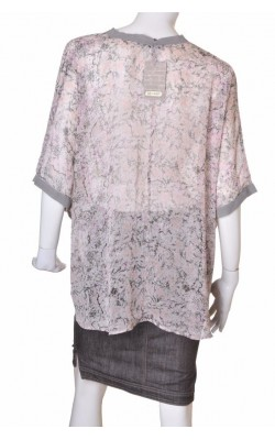 Top chiffon taupe 18 and East, marime 40