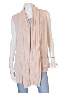 Top drapat amestec lana Lene V., asimetric, marime L