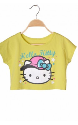 Top fistic oversized George, print Hello Kitty, 6-7 ani
