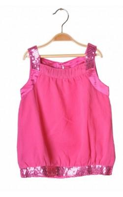 Top roz cu paiete F&F, 7-8 ani