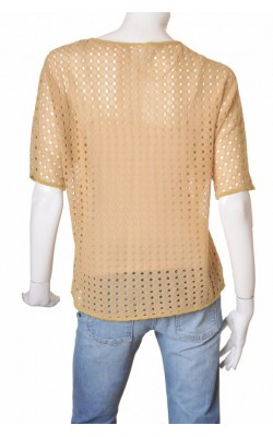 Top tricot fin ajurat Vero Moda, marime XL