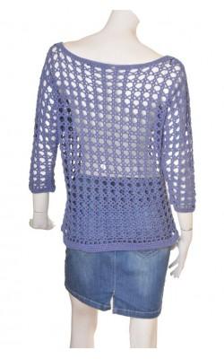 Top tricot mov Sportsgirl, bumbac, marime 42
