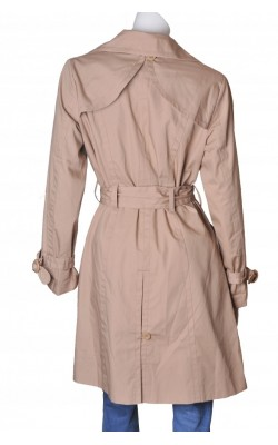 Trench bej din bumbac H&M, marime 46