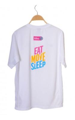 Tricou alb cu imprimeu Nike Dry-Fit, 13-15 ani
