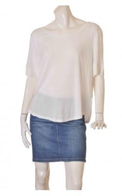 Tricou alb dama marime XL, H&M