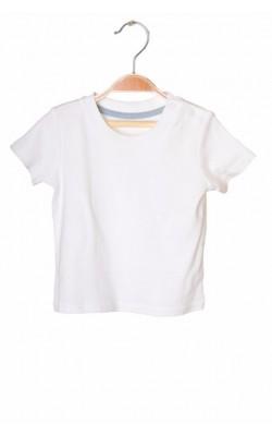 Tricou alb din bumbac George, 6-9 luni, 9.5 kg