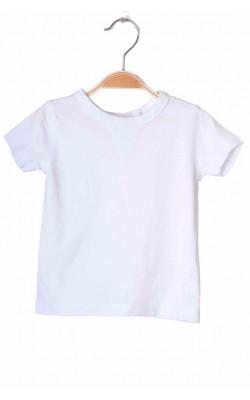 Tricou alb Next, 6-9 luni