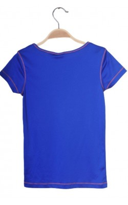 Tricou albastru antrenament Wow and Me, marime XXS