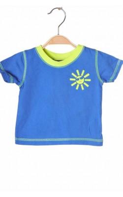 Tricou albastru cu fistic George, 3-6 luni, 8 kg