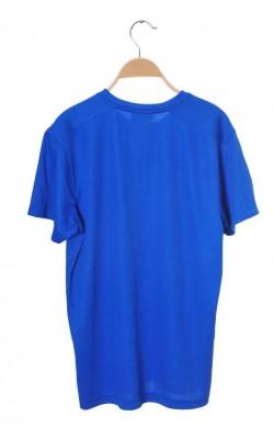 Tricou bleu Clique, marime M