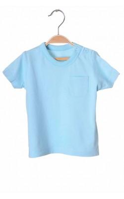 Tricou bleu Matalan, 6-9 luni
