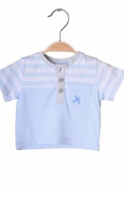 Tricou bleu Tu, 0-1 luni