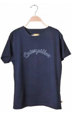 Tricou bleumarin Caterpillar, 14 ani