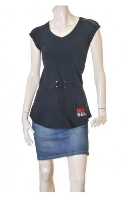 Tricou bleumarin cu imprimeu Marin Alpin, marime S