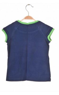 Tricou bleumarin cu verde Prospirit, 7 ani