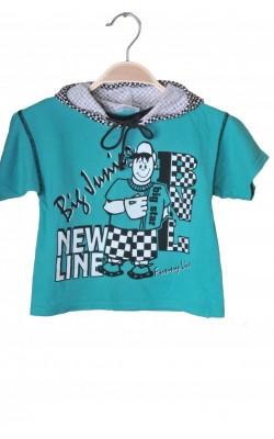 Tricou cu gluga Peanuts by Cubus, 2 ani