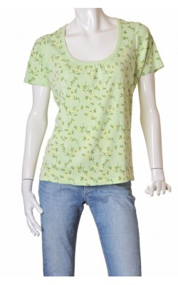 Tricou fistic print floral Jackie, marime XL