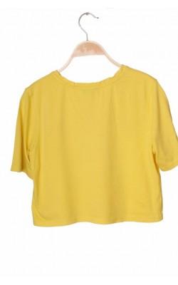 Tricou galben cu imprimeu New Look, 12-13 ani