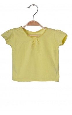 Tricou galben Early Days, 9-12 luni