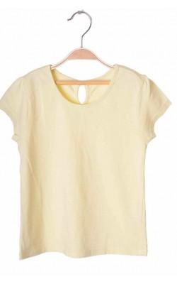 Tricou galben Matalan, 4-5 ani