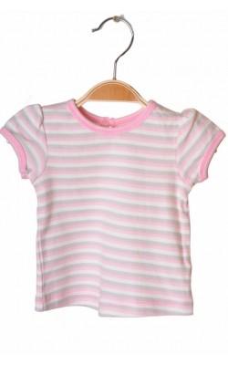 Tricou in dungi roz George, 0-1 luni, 4.1 kg