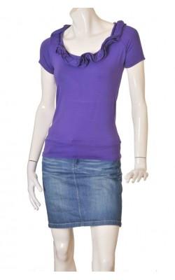 Tricou mov Megi Collection, marime 38